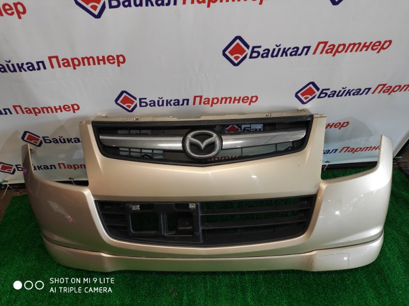 Бампер Mazda Az-Wagon MJ23S K6A 2010 передний