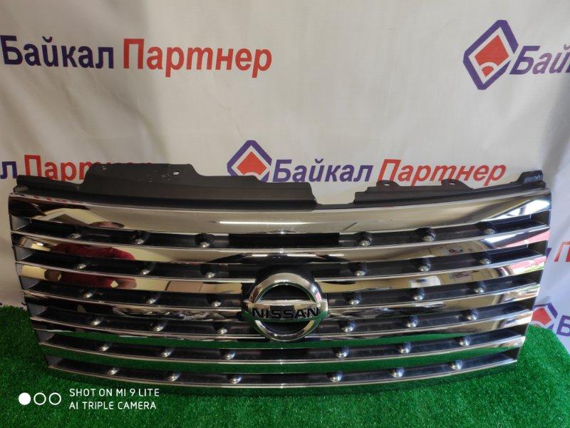Решетка радиатора Nissan Elgrand NE51 2005 передняя