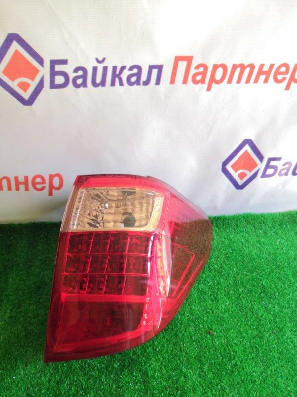 Стоп Toyota Alphard GGH25W 2GR-FE 2010 задний правый 58-26