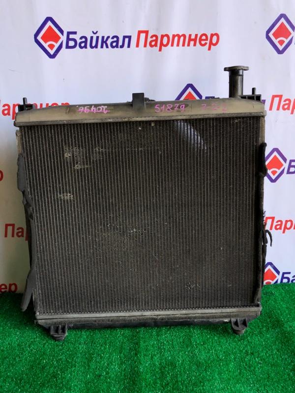 Радиатор двс Toyota Grand Hiace VCH16W 5VZ-FE 2001 передний