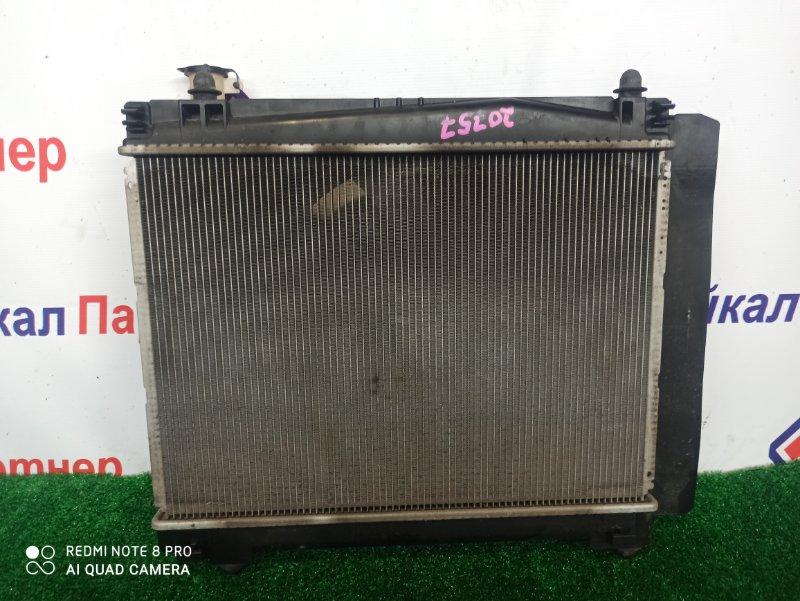 Радиатор двс Toyota Porte NCP145 1NZ-FE