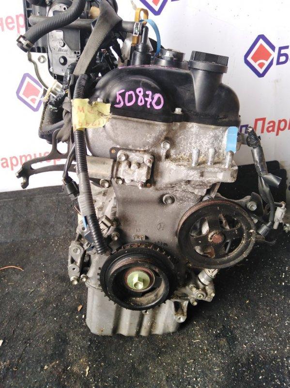 Двигатель Mazda Flairwagon MM21S K6A 2013
