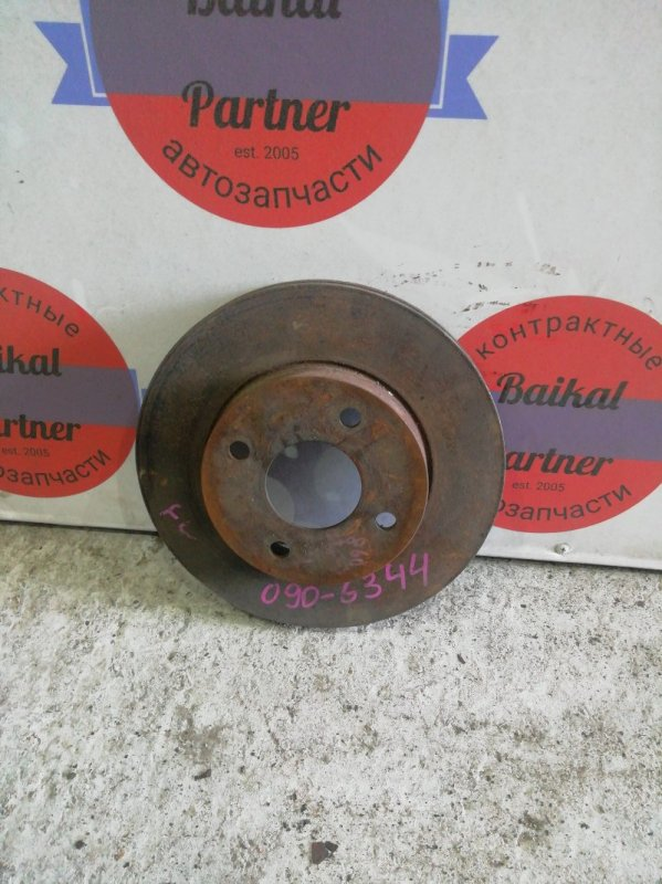 Тормозной диск Nissan Cube ANZ10 CGA3DE передний левый 6344
