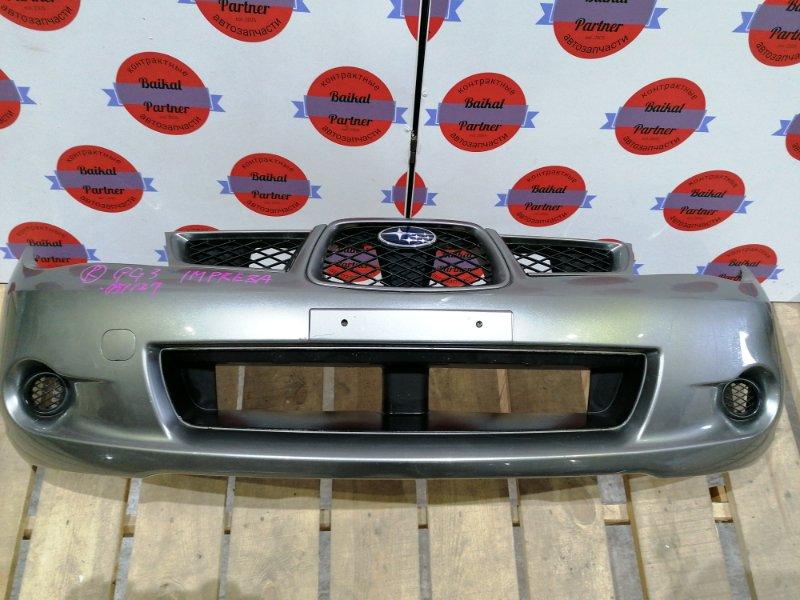 Бампер Subaru Impreza GG3 EJ15 09.02.2007 передний