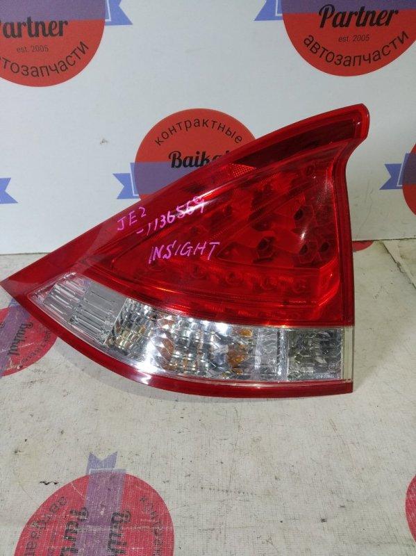 Стоп Honda Insight ZE2 LDA задний левый 220-22875