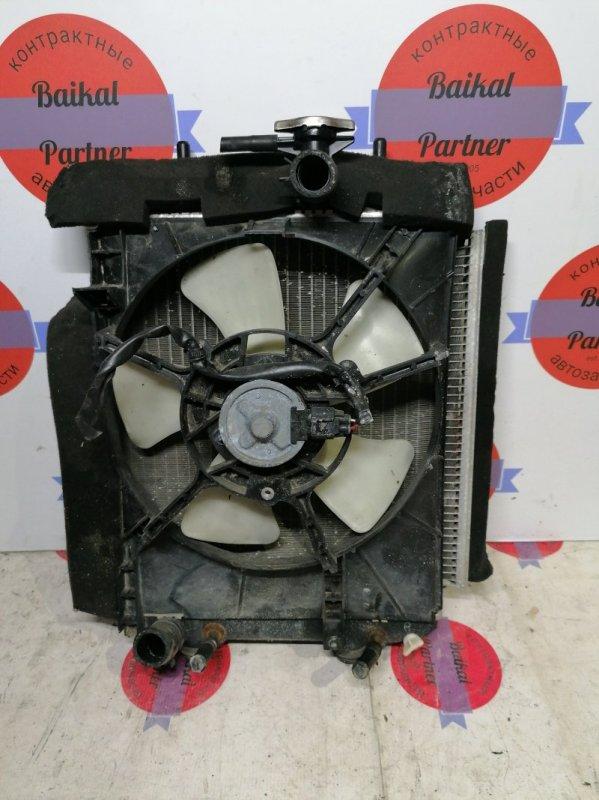 Радиатор двс Toyota Passo KGC10 1KR-FE