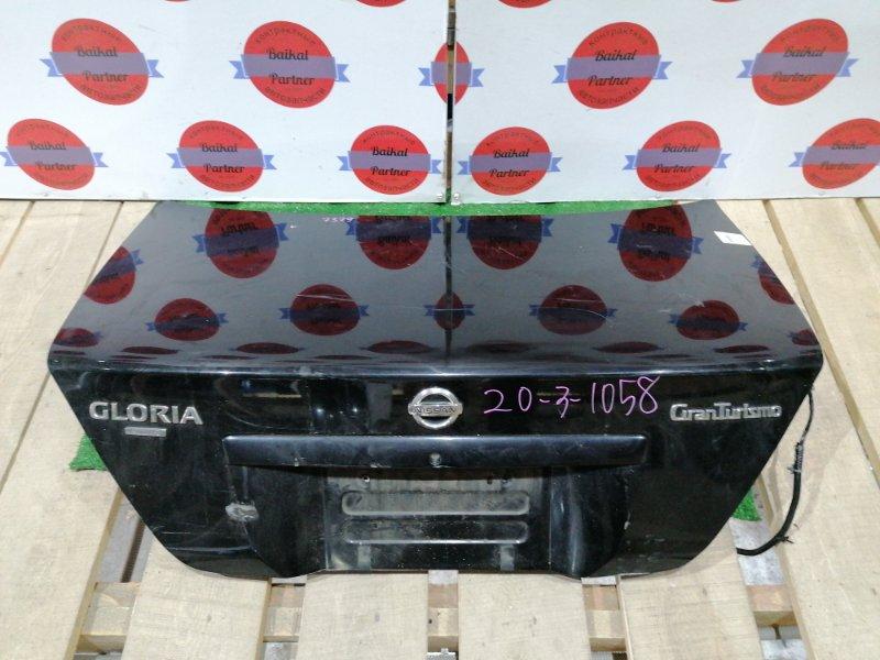 Крышка багажника Nissan Gloria HY34 VQ25DE