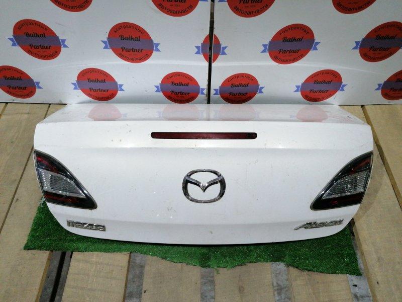 Крышка багажника Mazda Atenza GHEFP LF-VE 07.04.2008