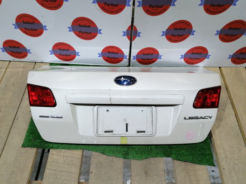 Крышка багажника Subaru Legacy BM9 EJ25 2011