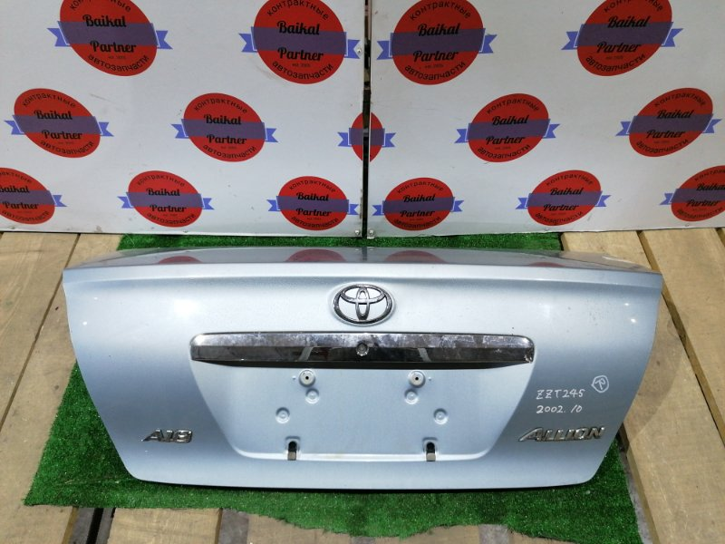 Крышка багажника Toyota Allion ZZT245 1ZZ-FE 2002