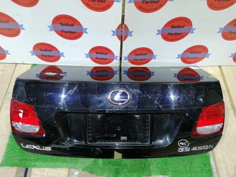 Крышка багажника Lexus Gs450H GWS191 2GR-FSE 2005