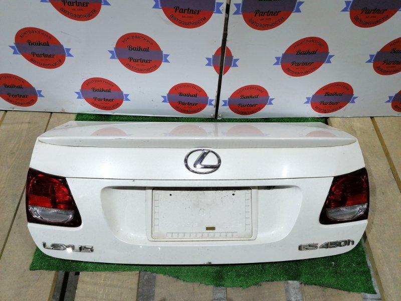 Крышка багажника Lexus Gs450H GWS191 2GR-FSE 2006.05