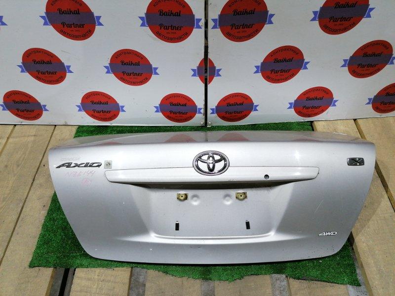 Крышка багажника Toyota Axio NZE144 1NZ-FE