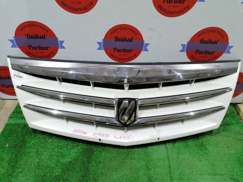Решетка радиатора Toyota Alphard ANH10W 2AZ-FE 2005
