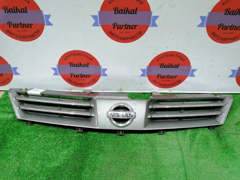 Решетка радиатора Nissan Wingroad Y11 QG13DE