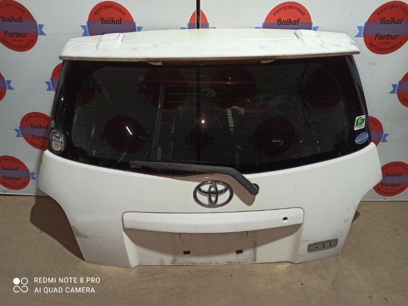 Дверь 5-я Toyota Ist NCP61 1NZ-FE 2002.05