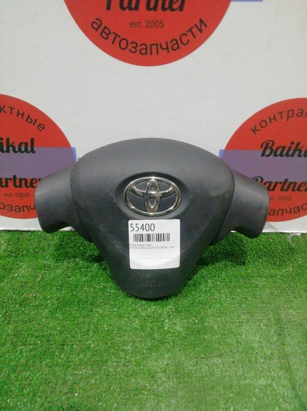 Airbag на руль Toyota Corolla NZE141G 1NZ-FE 2008 правый