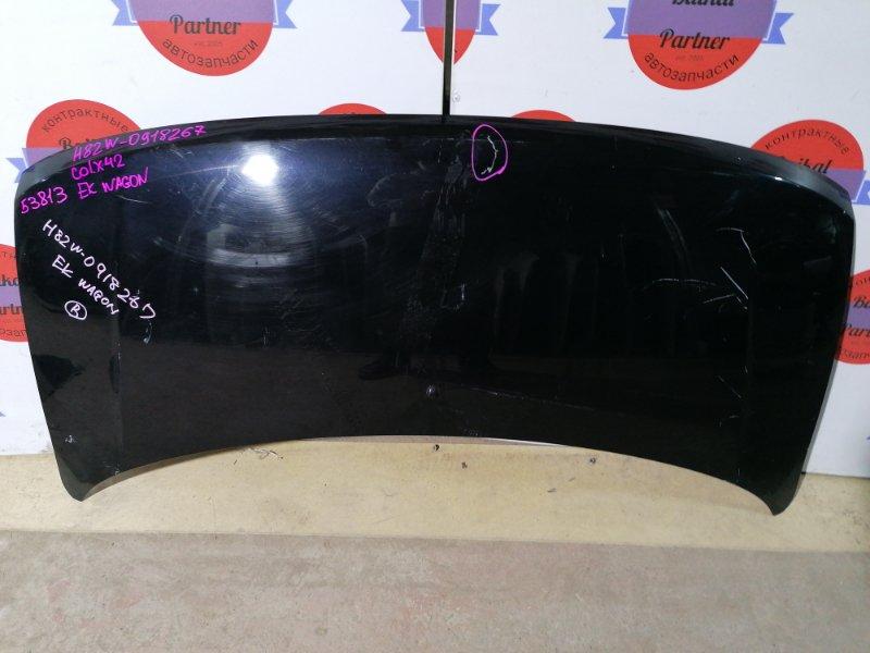 Капот Mitsubishi Ek Wagon H82W 3G83 2009