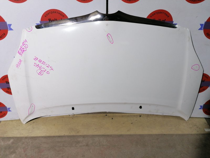 Капот Toyota Corolla Spacio ZZE124N 1ZZ-FE 2002
