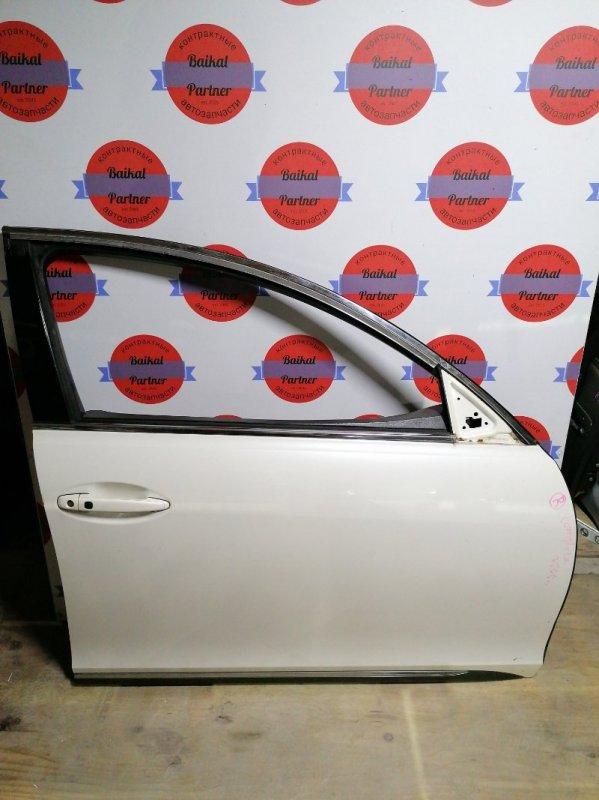 Дверь Lexus Gs450H GWS191 2GR-FSE 2006.05 передняя правая