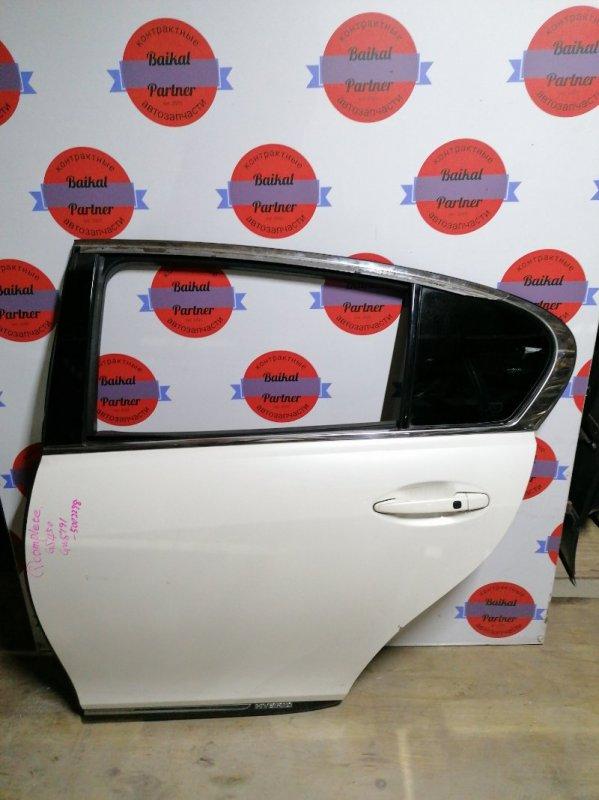 Дверь Lexus Gs450H GWS191 2GR-FSE 2006.05 задняя левая