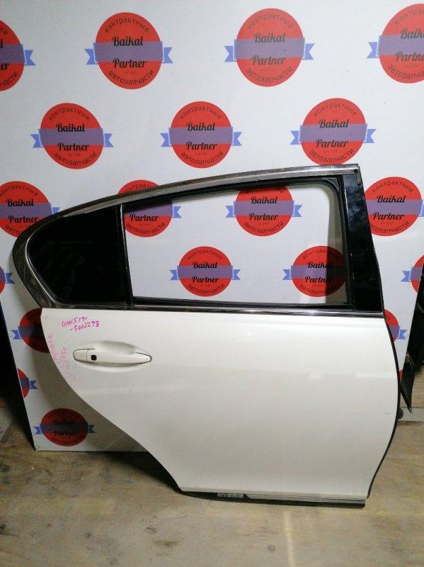 Дверь Lexus Gs450H GWS191 2GR-FSE 2006.05 задняя правая