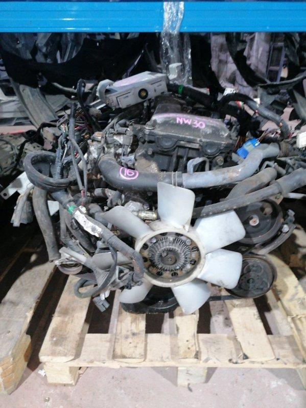 Двигатель Nissan Largo NW30 KA24DE 1996