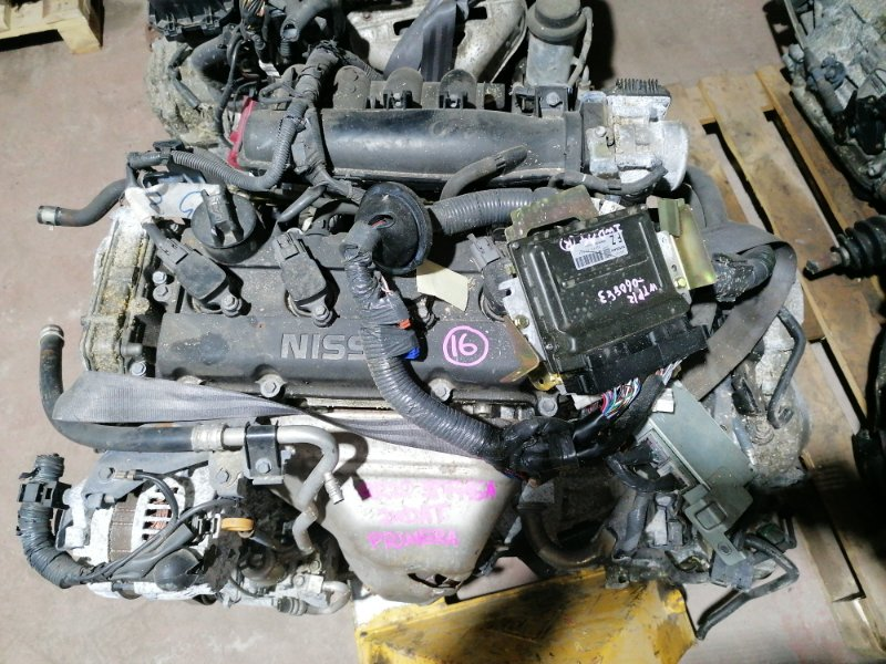 Двигатель Nissan Primera WTP12 QR20DE