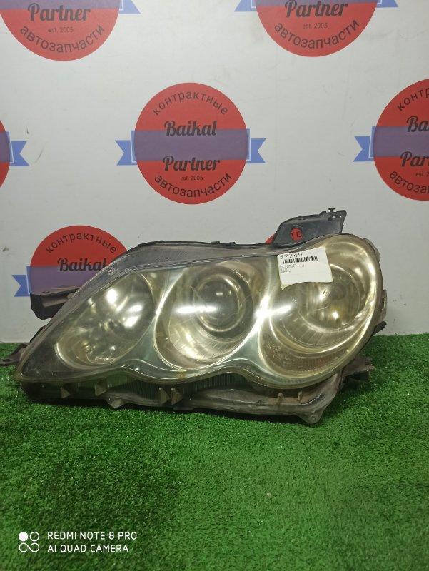 Фара Toyota Mark X GRX125 4GR-FSE передняя левая 22-332