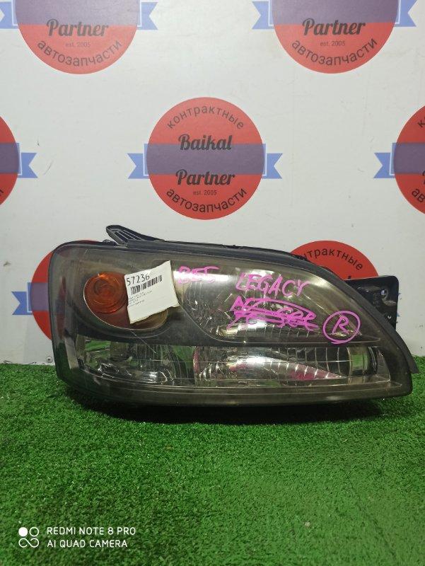 Фара Subaru Legacy BE5 EJ20 передняя правая 100-20751