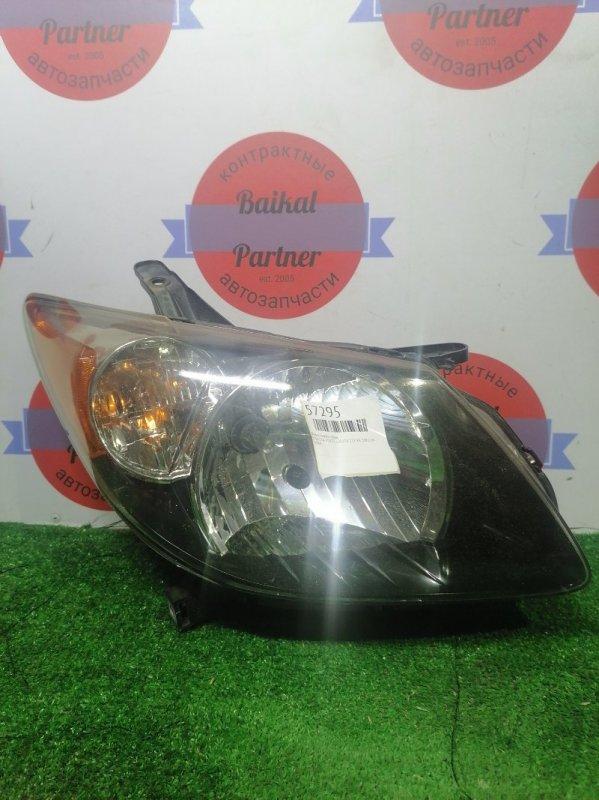 Фара Toyota Voltz ZZE138 1ZZ-FE 2002.09 передняя правая 1884