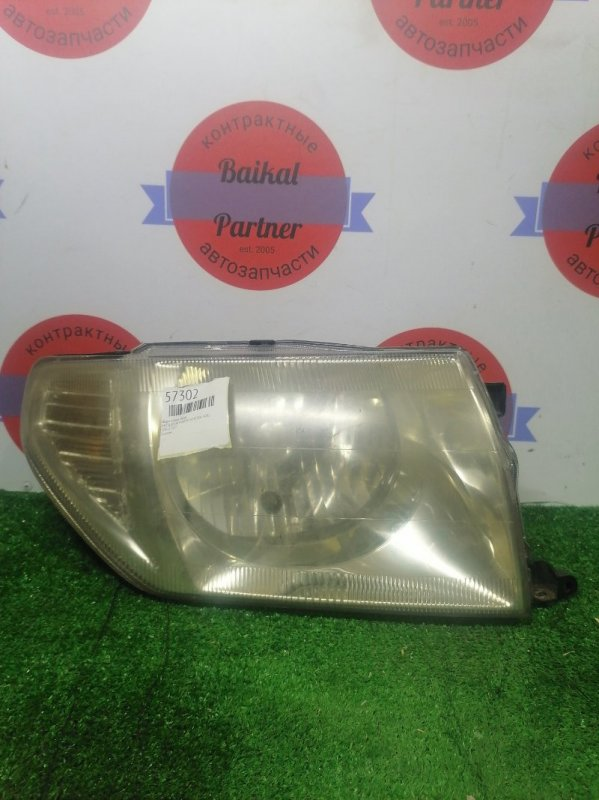 Фара Mitsubishi Pajero Io H76W 4G93 передняя правая 100-87312