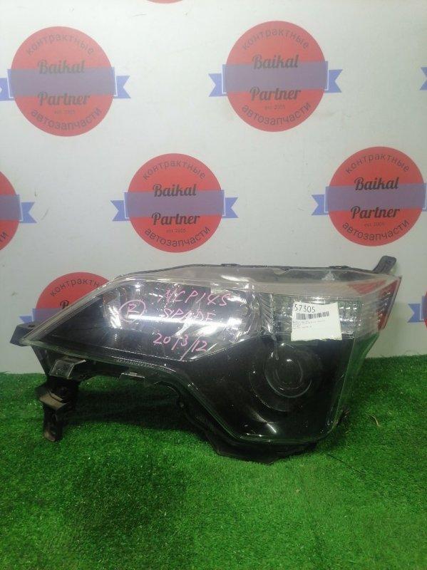 Фара Toyota Spade NCP145 2013/12 передняя левая 52-260