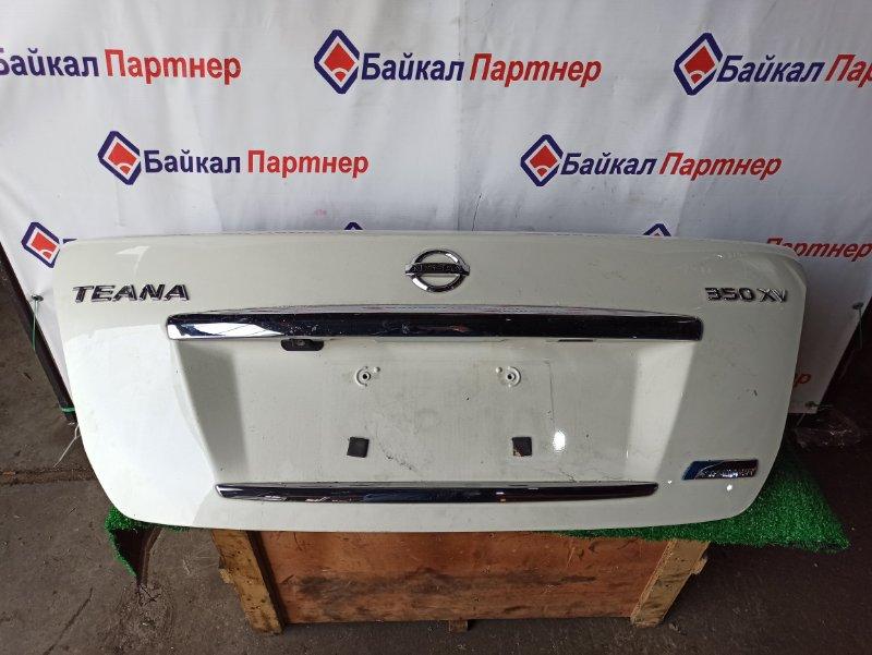 Крышка багажника Nissan Teana J32 VQ25 06.2008