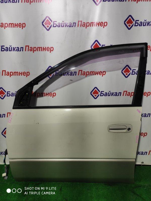 Дверь Toyota Ipsum SMX15G 3S-FE передняя левая