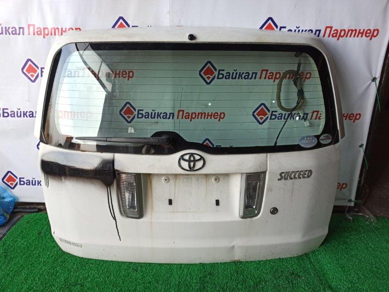 Дверь 5-я Toyota Succeed NCP51 1NZ-FE
