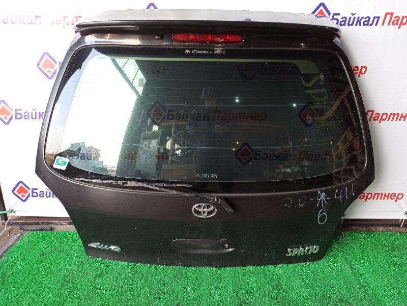 Дверь 5-я Toyota Corolla Spacio AE115N 7A-FE 1998