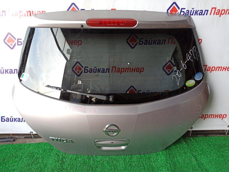 Дверь 5-я Nissan Tiida C11 HR15-DE