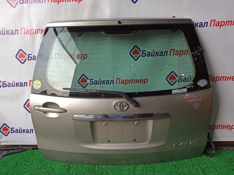 Дверь 5-я Toyota Raum NCP20 2005