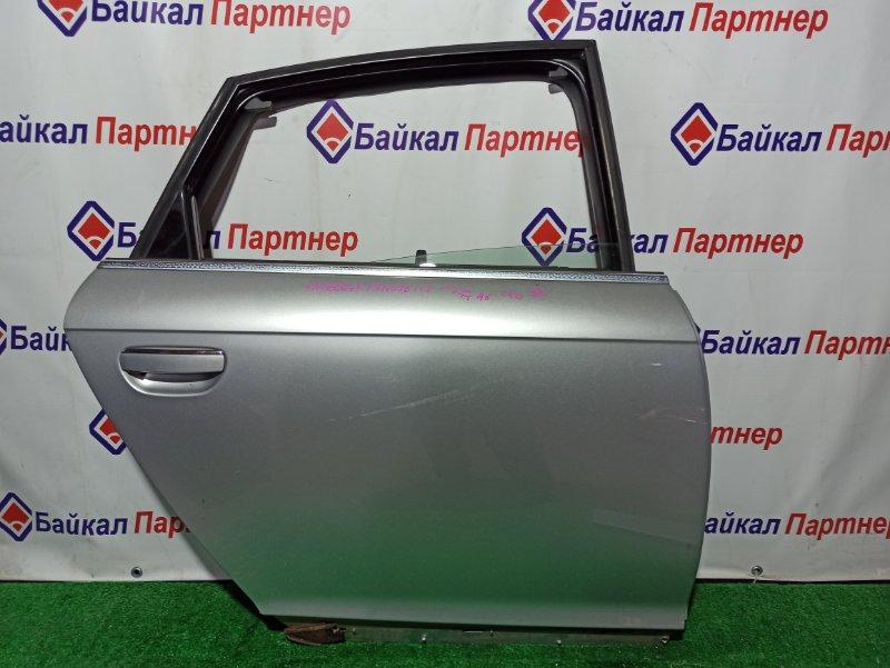 Дверь Audi A6 4F2 AUK 2005 задняя правая