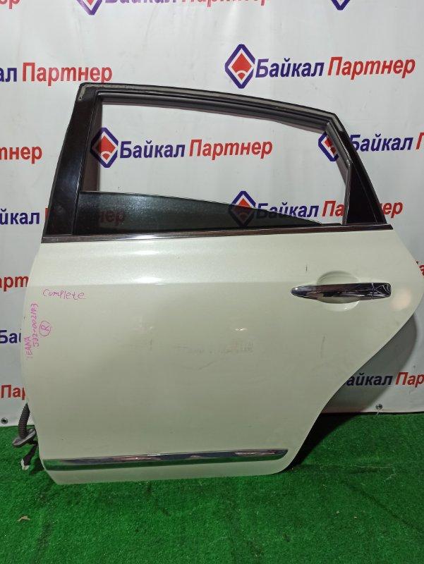 Дверь Nissan Teana J32 VQ25DE 06.2008 задняя левая