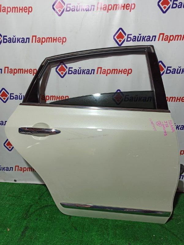 Дверь Nissan Teana J32 VQ25DE 06.2008 задняя правая