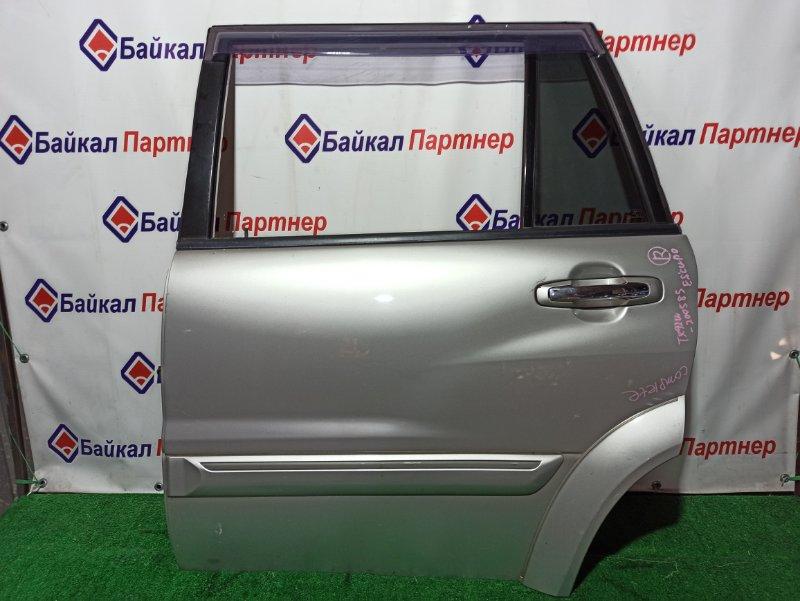 Дверь Suzuki Grand Escudo TX92W H27A задняя левая
