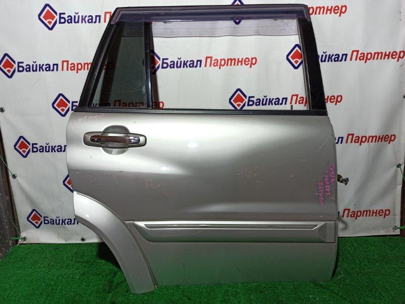 Дверь Suzuki Escudo TX92W H27A задняя правая