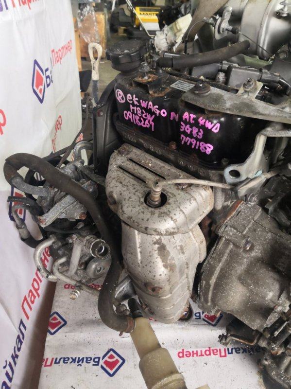 Двигатель Mitsubishi Ek Wagon H82W 3G83