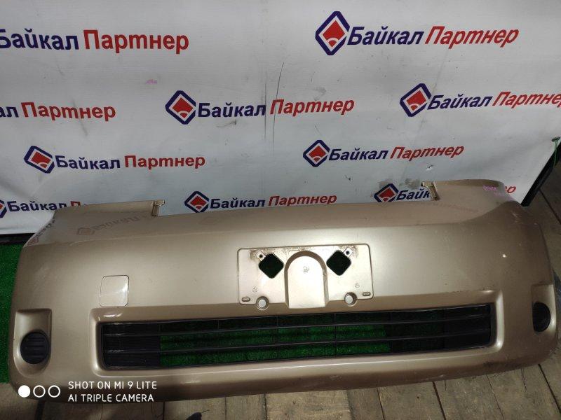 Бампер Toyota Porte NNP15 передний