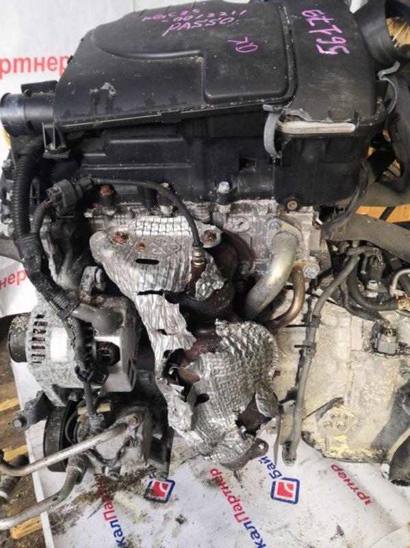 Двигатель Toyota Passo KGC35 1KR-FE 2012