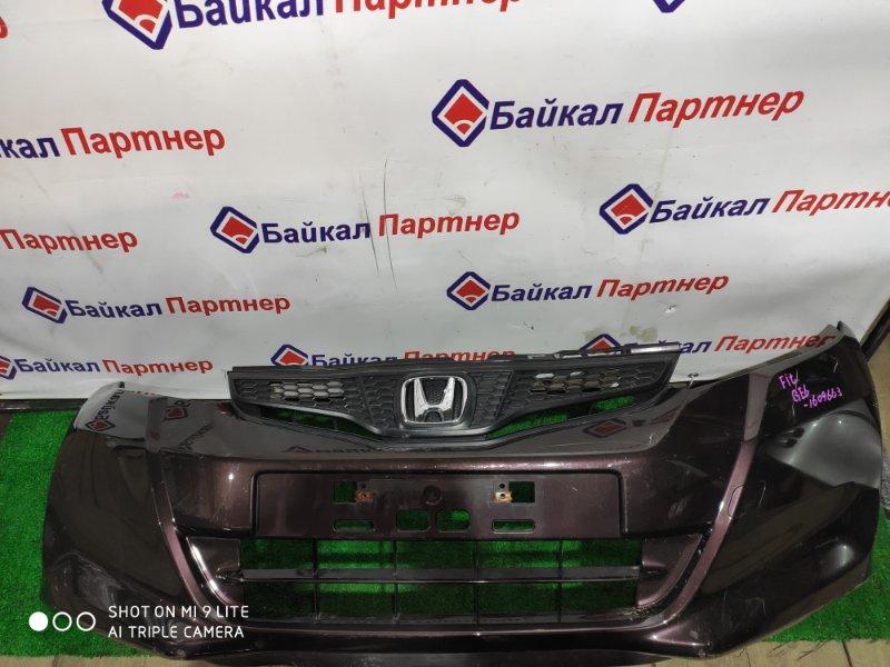 Бампер Honda Fit GE6 L13A передний