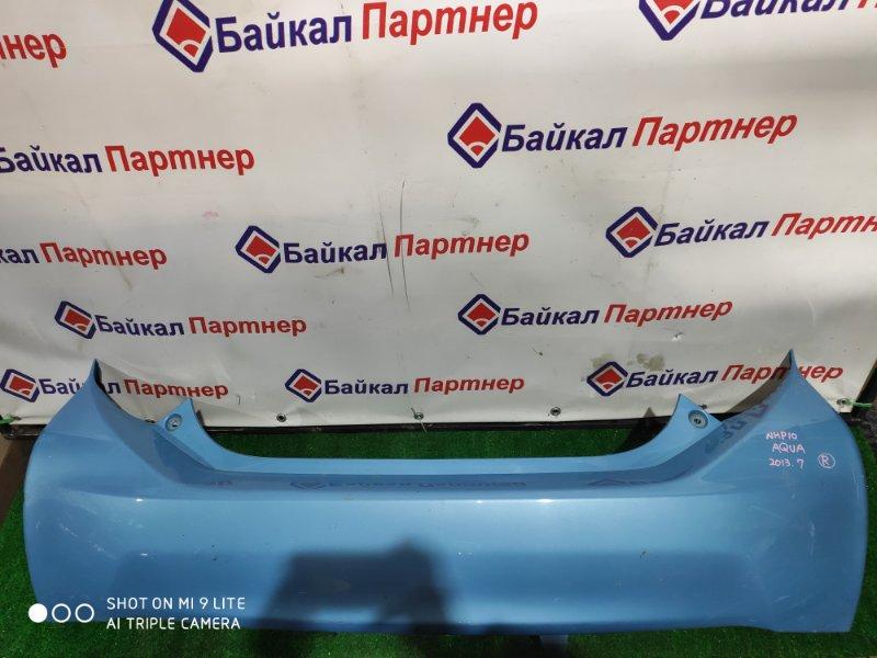 Бампер Toyota Aqua NHP10 2013 задний