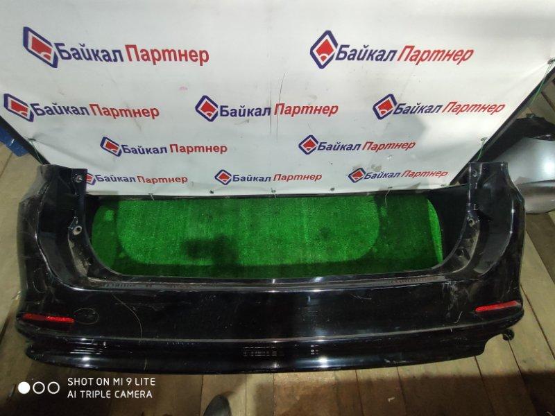 Бампер Toyota Voxy ZRR70G 3ZR-FAE 2012 задний